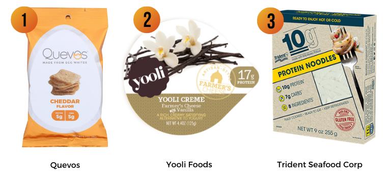 Quevos, Yooli Foods, Trident Seafood