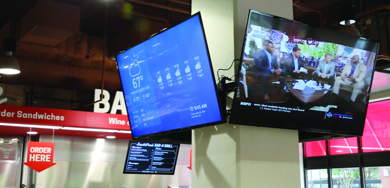 It might be time to revisit your thoughts about digital signage