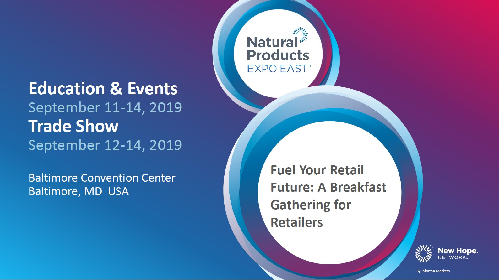Expo East 2019 Fuel Your Retail Future Slides