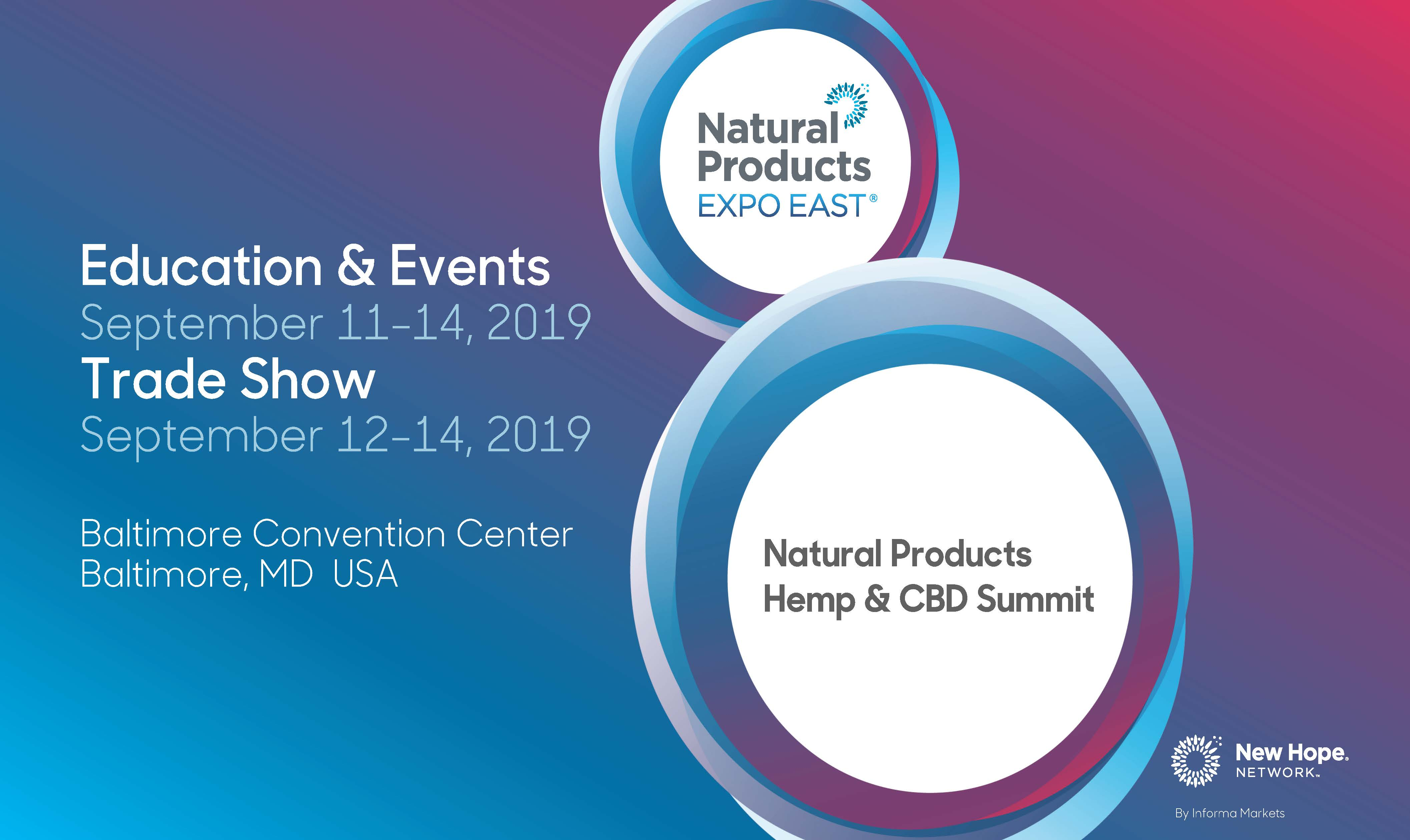 Expo East 2019 Hemp CBD Summit Slides