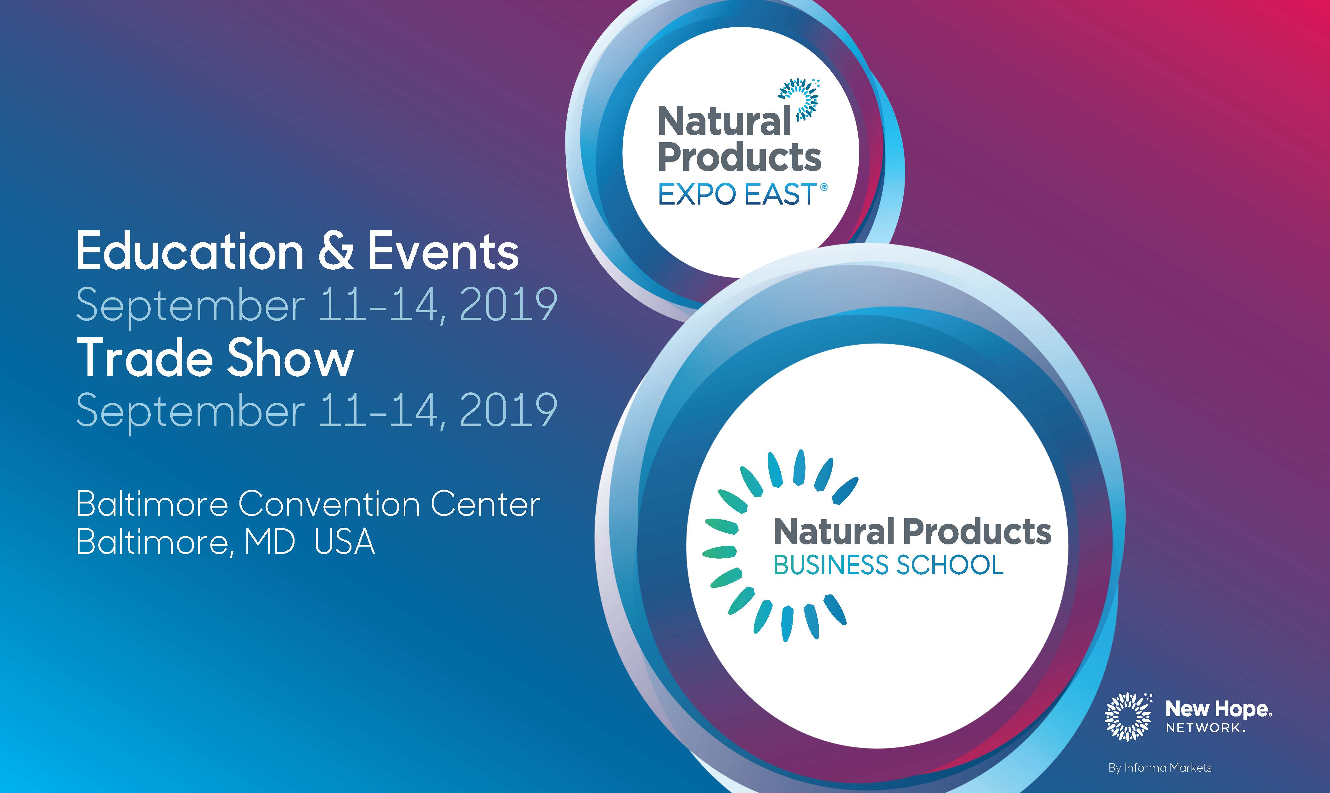 Expo East 2019 Natural Products Business School Slides