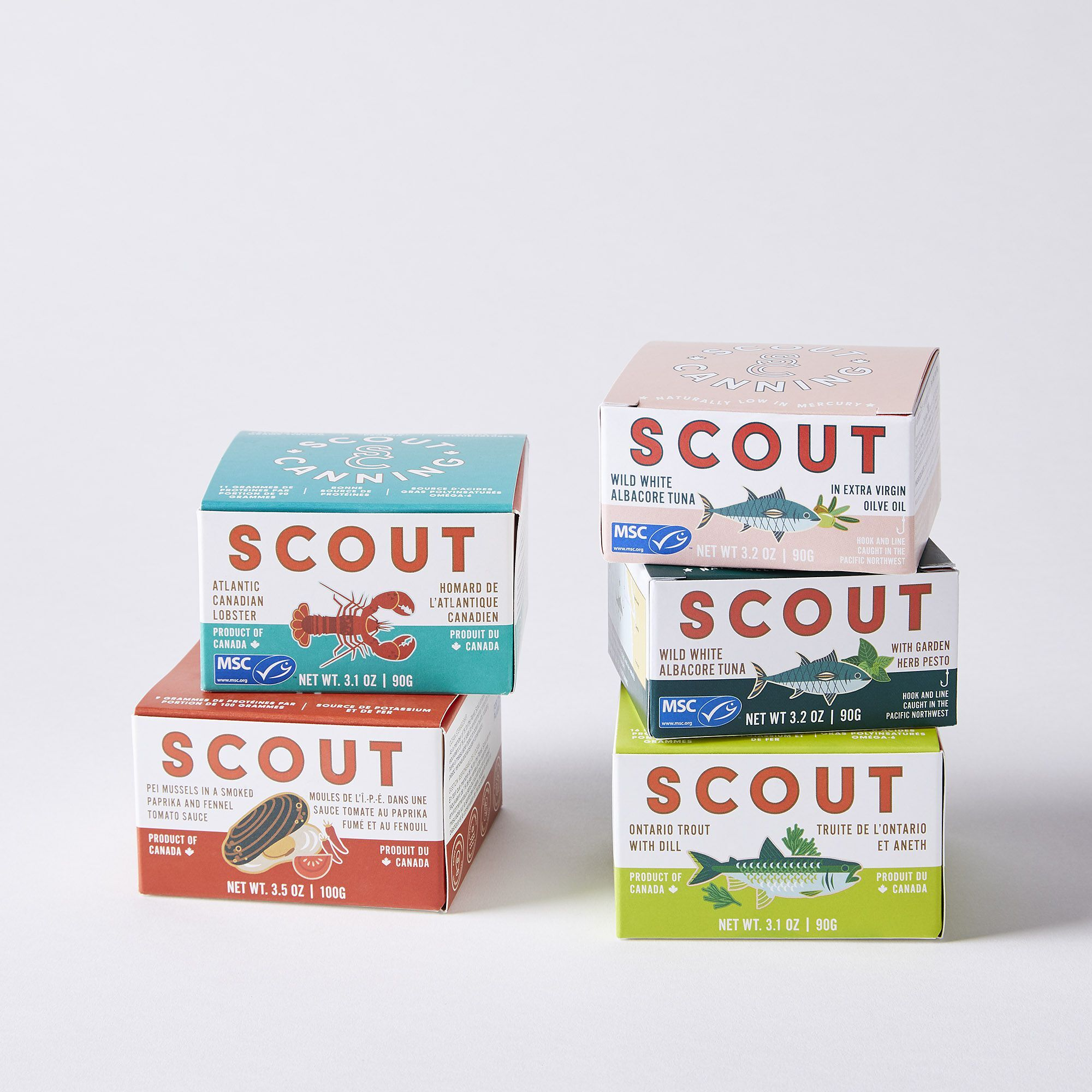 scout canning seacharcuterie bundle