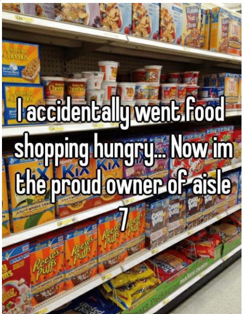willpower aisle meme