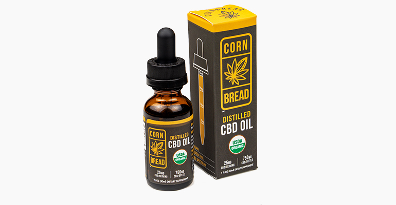 Cornbread Whole Plant CBD Oil