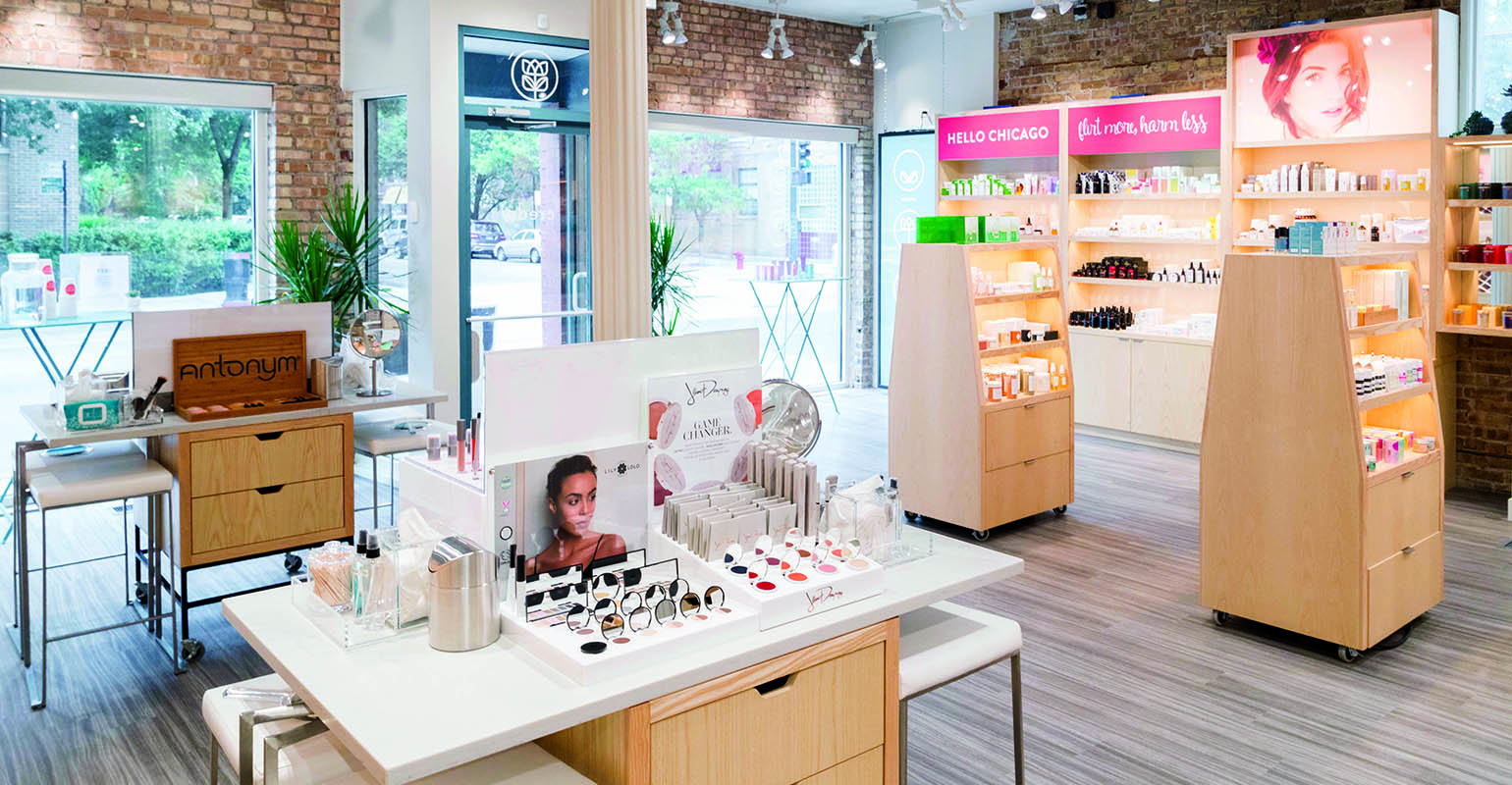 Specialty retailer Credo creates inviting spaces to welcome clean skin care customers of all ages