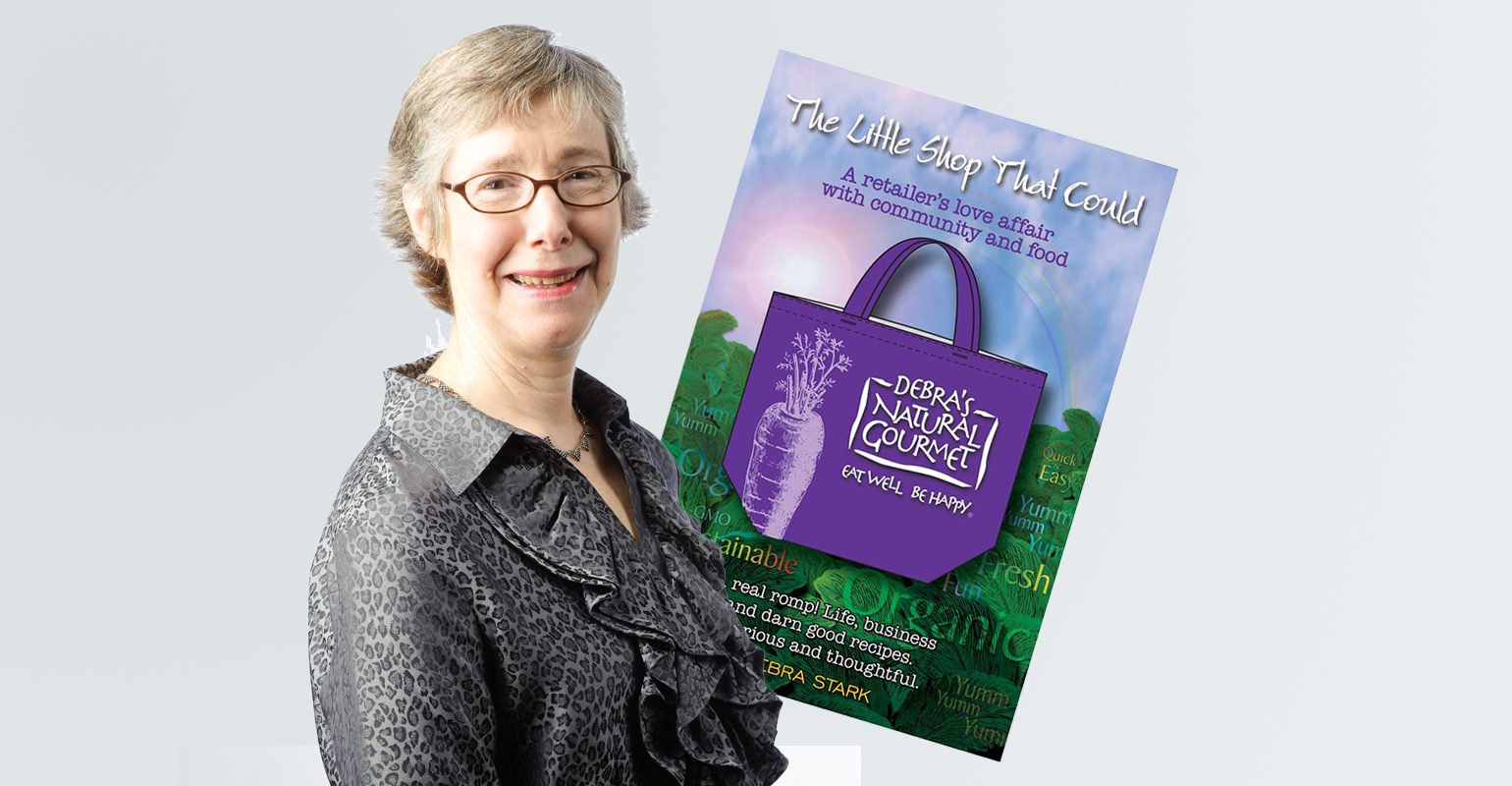 Debra Stark delights us with her new book, The Little Shop That Could.