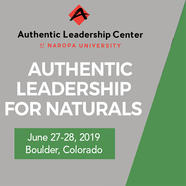 Authentic Leadership for Naturals workshop