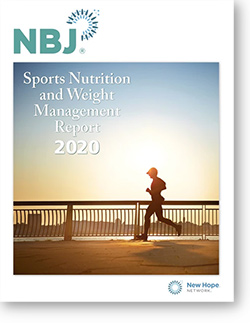 NBJ Sports Nutrition Report cover