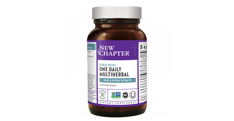 New Chapter One Daily Multiherbal Stress Relief