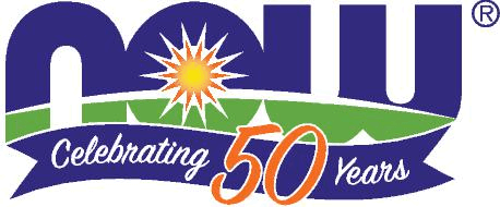 Now 50 year logo