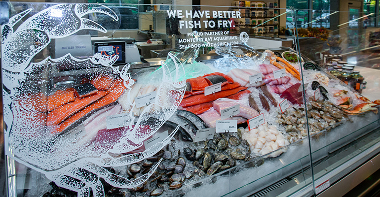 Education and customer service sell sustainable seafood PCC Market