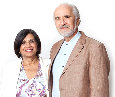 Arran and Ratana Stephens