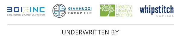 Fodder podcast underwriters logos 301Inc, Giannuzzi Group, Healthy Lifestyle Brands, Whipstitch Capital