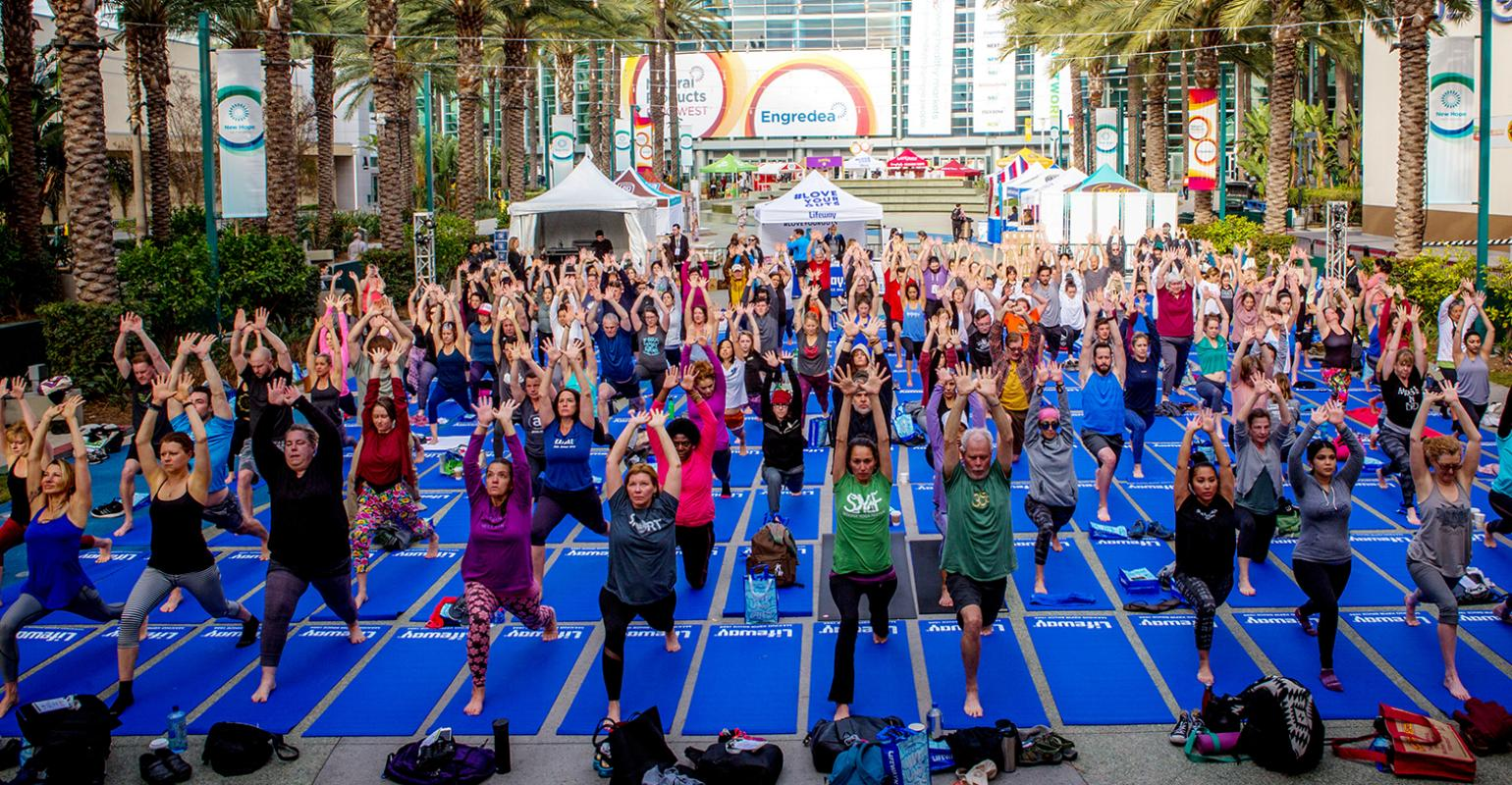Making your way around Expo West 2019 at the Anaheim