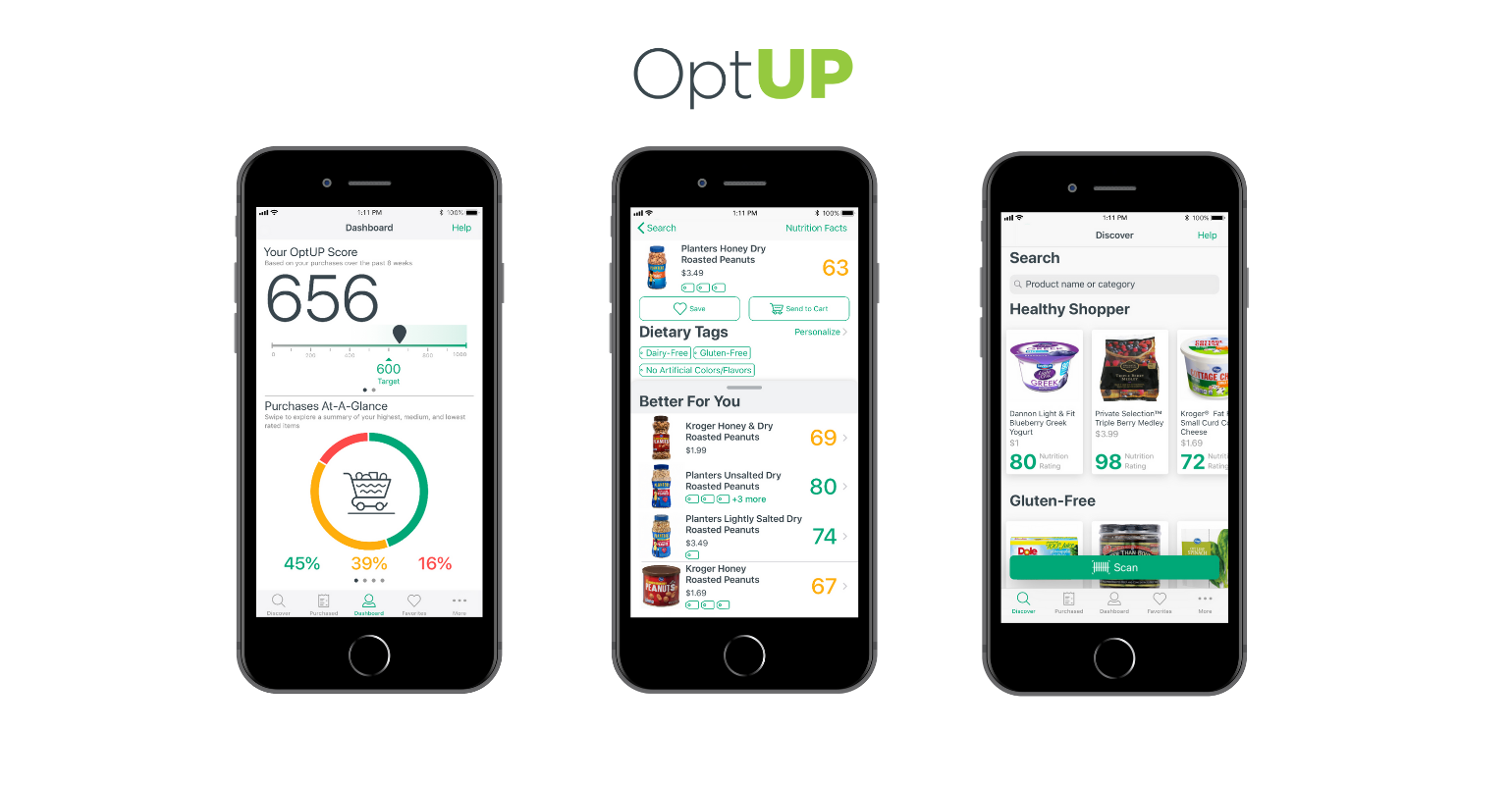 Kroger encourages consumers to 'OptUP