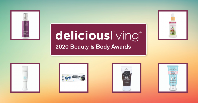 Delicious Living Beauty and Body Awards honor top natural products