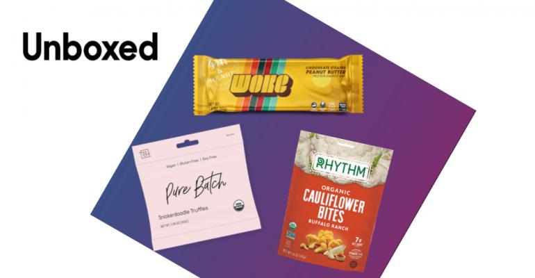 Unboxed snacks