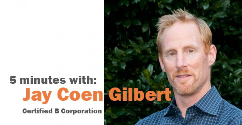 5 minutes with Jay Coen Gilbert