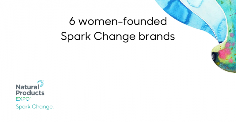 6 Spark Change brands founded by women