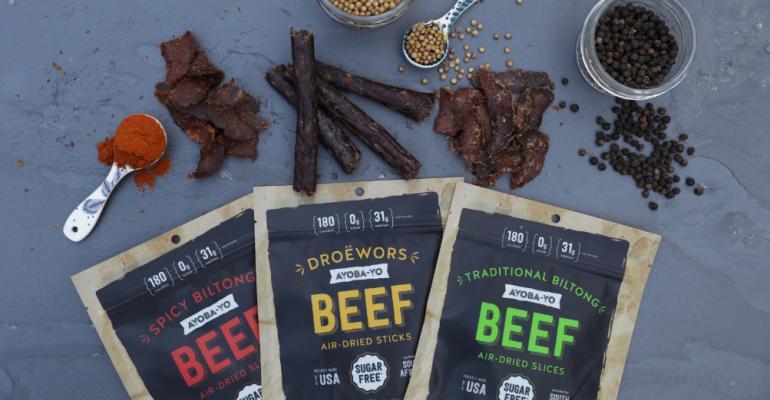 Ayoba-yo meat snacks