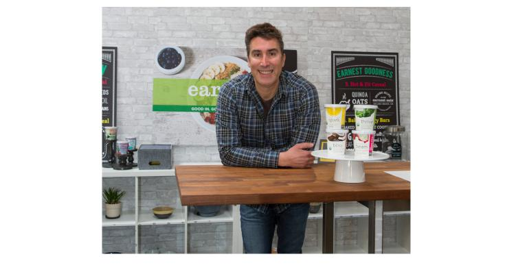 Andrew Aussie, founder of Earnest Foods