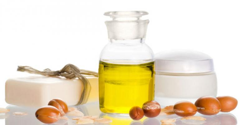 Made from the nuts of a Moroccan tree species argan oil contains twice as much vitamin E as olive oil Like other antioxidants vitamin E slows the damaging effects of free radicals Another boon for argan Itrsquos rich in squalene a compound that promotes collagen production