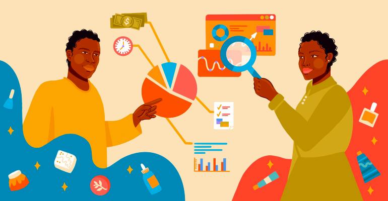 BIPOC entrepreneurs illustration