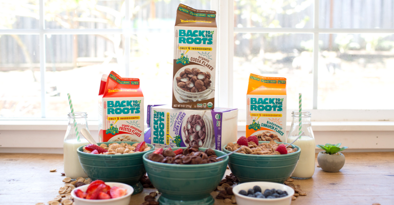 Organic Cereal Family Shot