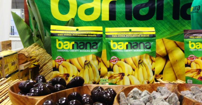 Standout packaging plus standout flavor will help this potassiumrich snack fly off shelves