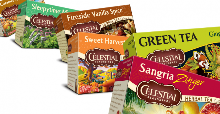 Celestial Seasonings tea assortment