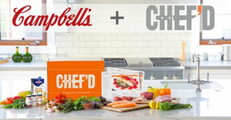 campbell invests in meal kits