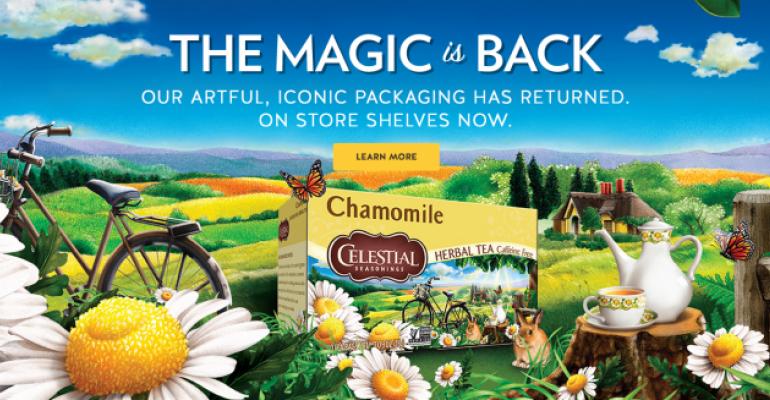 Celestial Seasonings return of old packaging