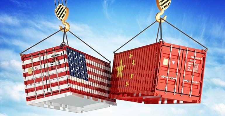 China United States trade war supplement industry