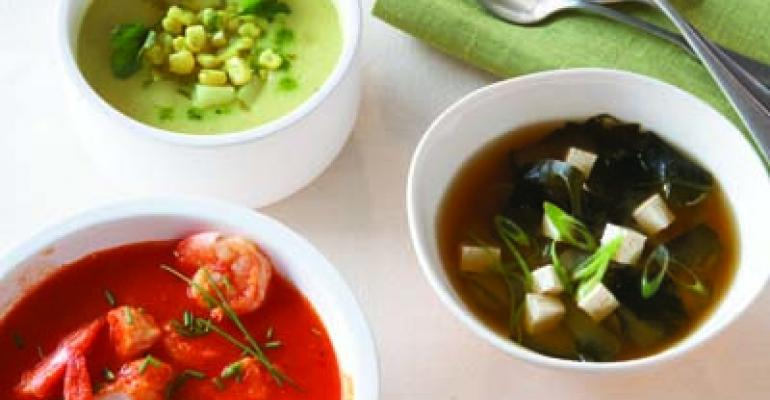 Hearty and healthy soups