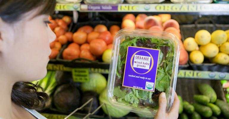 Gwendolyn Wyard of the Organic Trade Association plays the role of a shopper new to organics, with three organic experts—Jessica Walden, Logan Peterman, and Mike Dill—under rapid fire to answer her insightful questions.