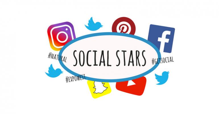 social media at Expo West