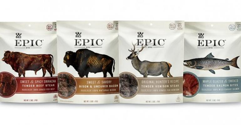 Epic Provisions meat snack packaging