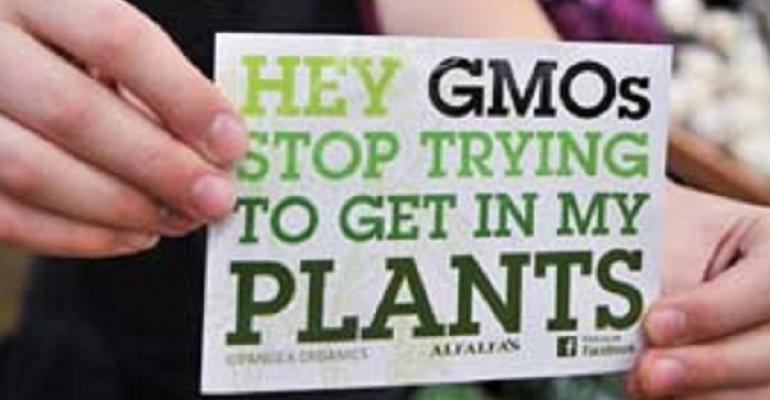 GMO sticker