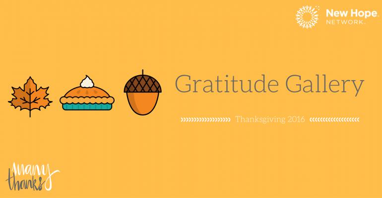 Gratitude Gallery