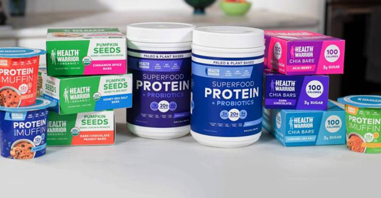 Health Warrior superfood bar protein products