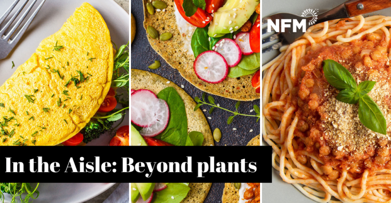 plant-based images for NFM in the aisle