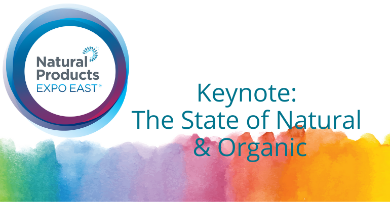 Natural Products Expo East State of the Industry 2021