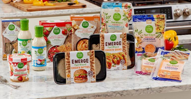 Kroger Simple Truth Plant Based-new items
