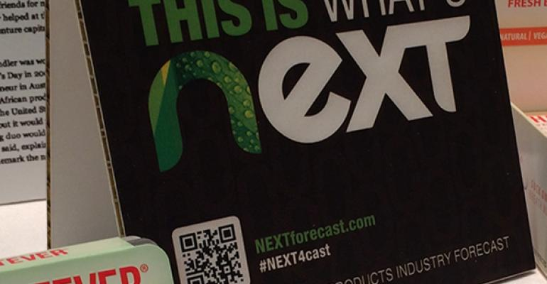 NEXTY conference sign