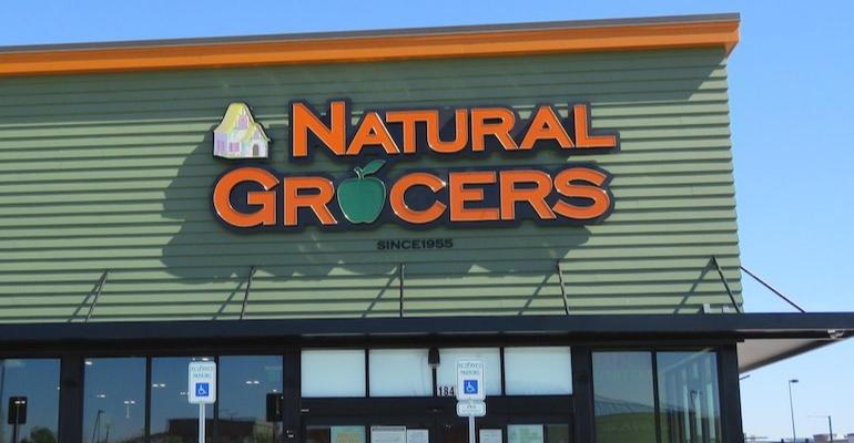 Natural Grocers store entrance