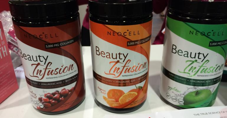 NeoCell is another collagen finishedproduct company with truly elegant design targeted to capitalize on the collagen market that boomed by 200 percent during the last year Whats great about this company is the collagen comes in fruity beauty beverage shots orange blueberry apple pomegranate and more You would never know you were sipping collagen