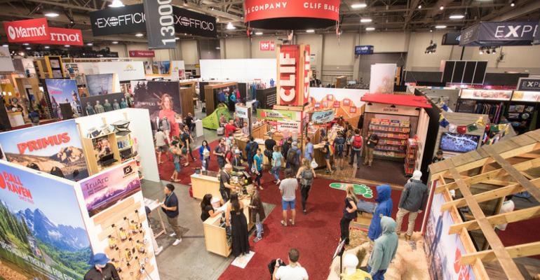 Outdoor Retailer Show Floor