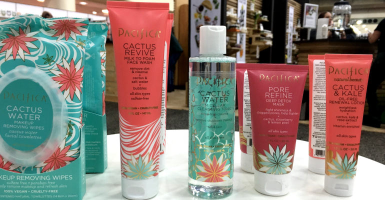 Pacifica cactus water skin care