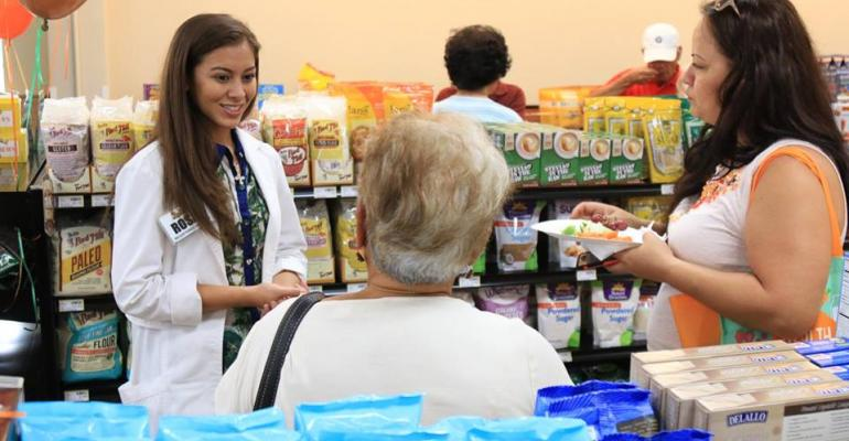 grocery store dietitian