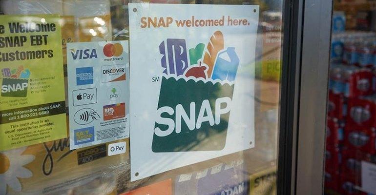 snap program store sign